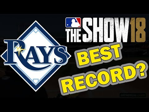 BEST RECORD??? TAMPA BAY RAYS FRANCHISE EPISODE 13 | MLB 18 FRANCHISE