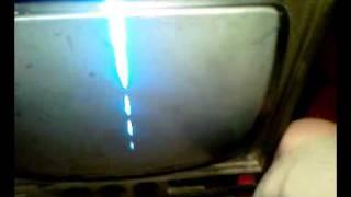 TV vela biały pasek
