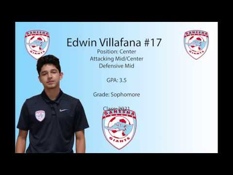 Edwin Villafana Sophomore Year Highlights Ganesha High School class of 2021