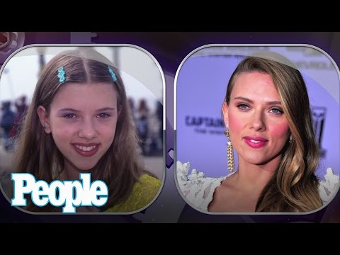 Scarlett Johansson's Evolution of Looks | Time Machine | PEOPLE