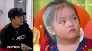 (GOT7)  Jackson Wang and Niece (Aimee) (Let me go of my baby-Ep10 CUT)
