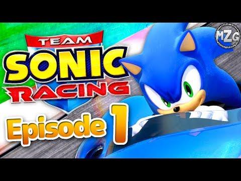Team Sonic Racing Gameplay Walkthrough Episode 1 Team Sonic Chapter 1 100 Youtube