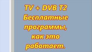 цифровой телевизор dvb t2, проверка.
