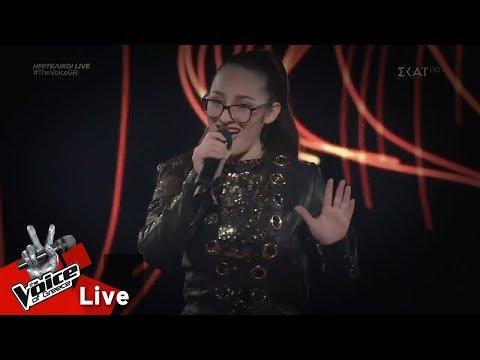 Κλαυδία Παπαδοπούλου - Dangerous Woman | 1ος ημιτελικός | The Voice of Greece