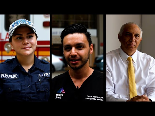 Hispanic healthcare heroes essential to NYC's recovery