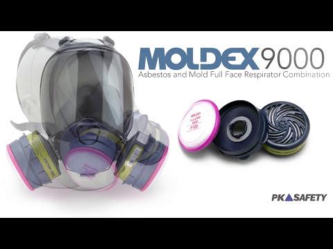 Moldex 9000 Asbestos And Mold Full Face Respirator Combination