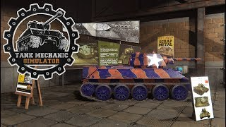 Complicated Repair & First Tank In The Museum! ~ Tank Mechanic Simulator #3