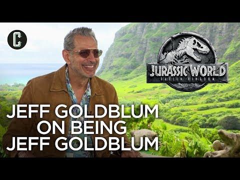 Jeff Goldblum on What It's Like Being Jeff Goldblum
