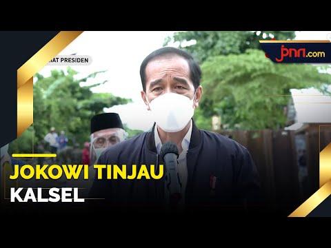 Jokowi Meluncur ke Kalsel demi Pastikan 3 Hal Penting Ini