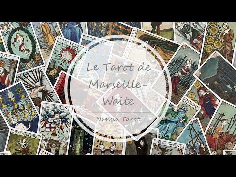 開箱  馬賽亦偉特-法式手繪限定版 • Le Tarot de Marseille-Waite // Nanna Tarot