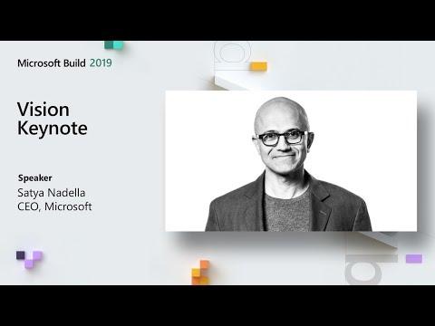 Microsoft Build 2019 // Vision Keynote + Imagine Cup World Championship