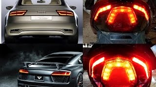 Cara Membuat Lampu Audi/Lampu strip (How to make an Audi lamp)