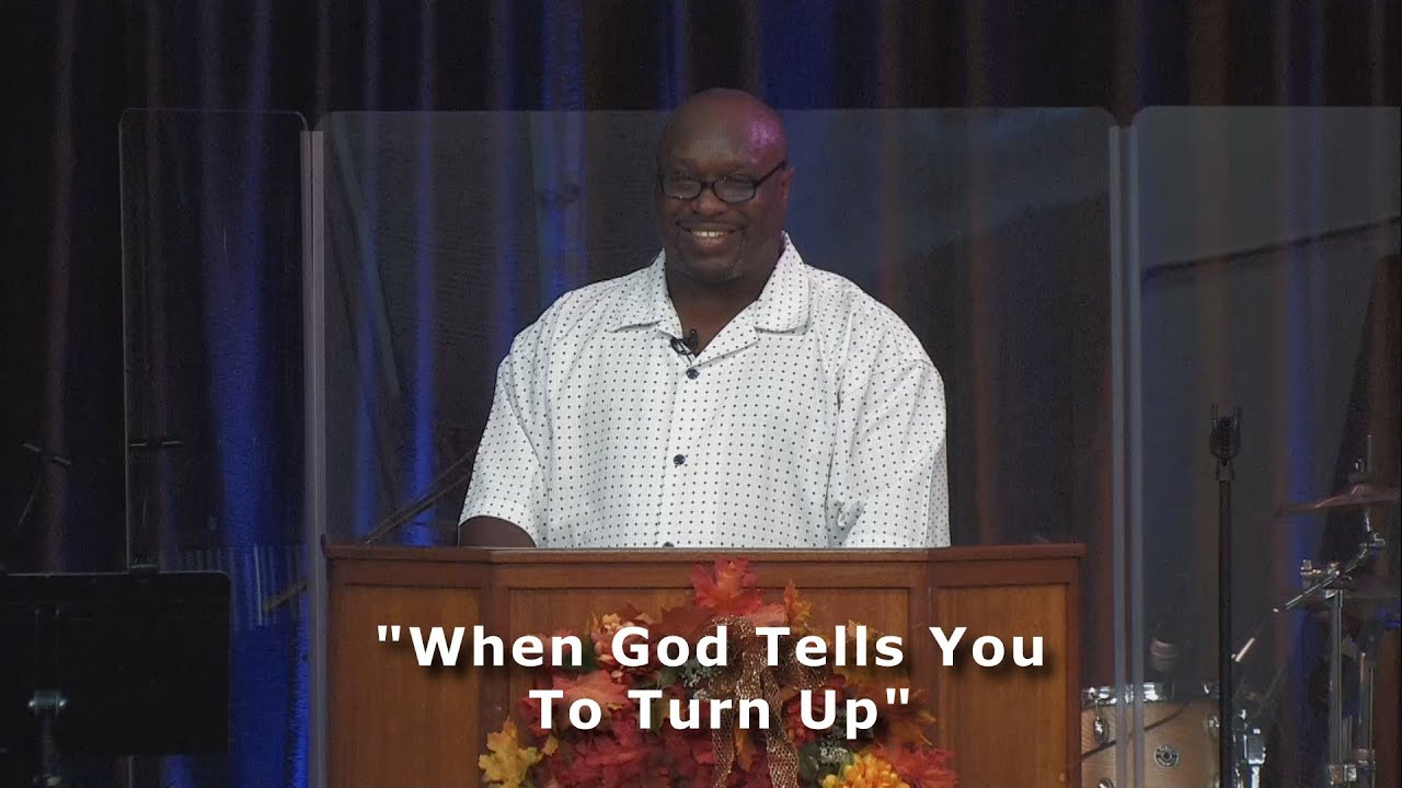 """""""When God Tells You To Turn Up"""""""