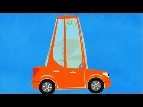 Песенки про машинки - Бип-бип, Колёса трактора и другие мультики - Поём #домавместе!
