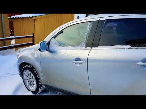 Cold Start Mitsubishi ASX 1.8 DI-D 4WD Diesel -7 Celsius Romania