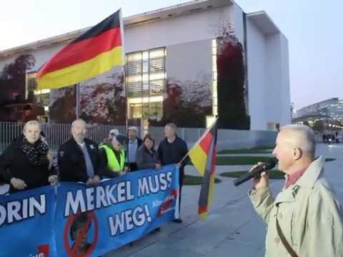 VOR ORT AKTUELL - MERKEL-MUSS-WEG-MITTWOCH VOM 23.OKTOBER IN BERLIN-MITTE. MIT WOLFGANG GRAETZ ...