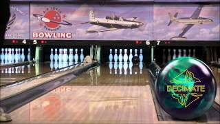 AMF300 Decimate Bowling Ball Video Demonstration by Bowlerstore com