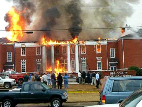BIBB COUNTY JUNIOR HIGH SCHOOL FIRE DEC 2008