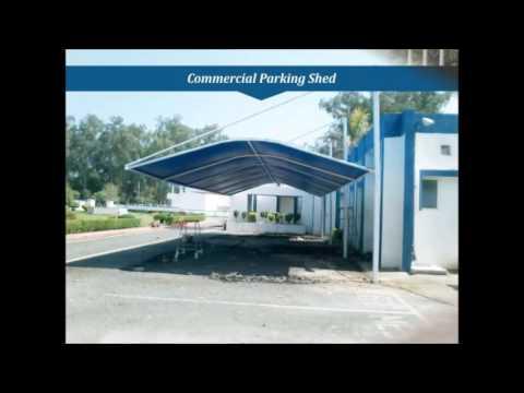 Latest Vehicle Parking Sheds Design, Contractors in Parking Sheds, Exclusive Parking Canopy, Delhi