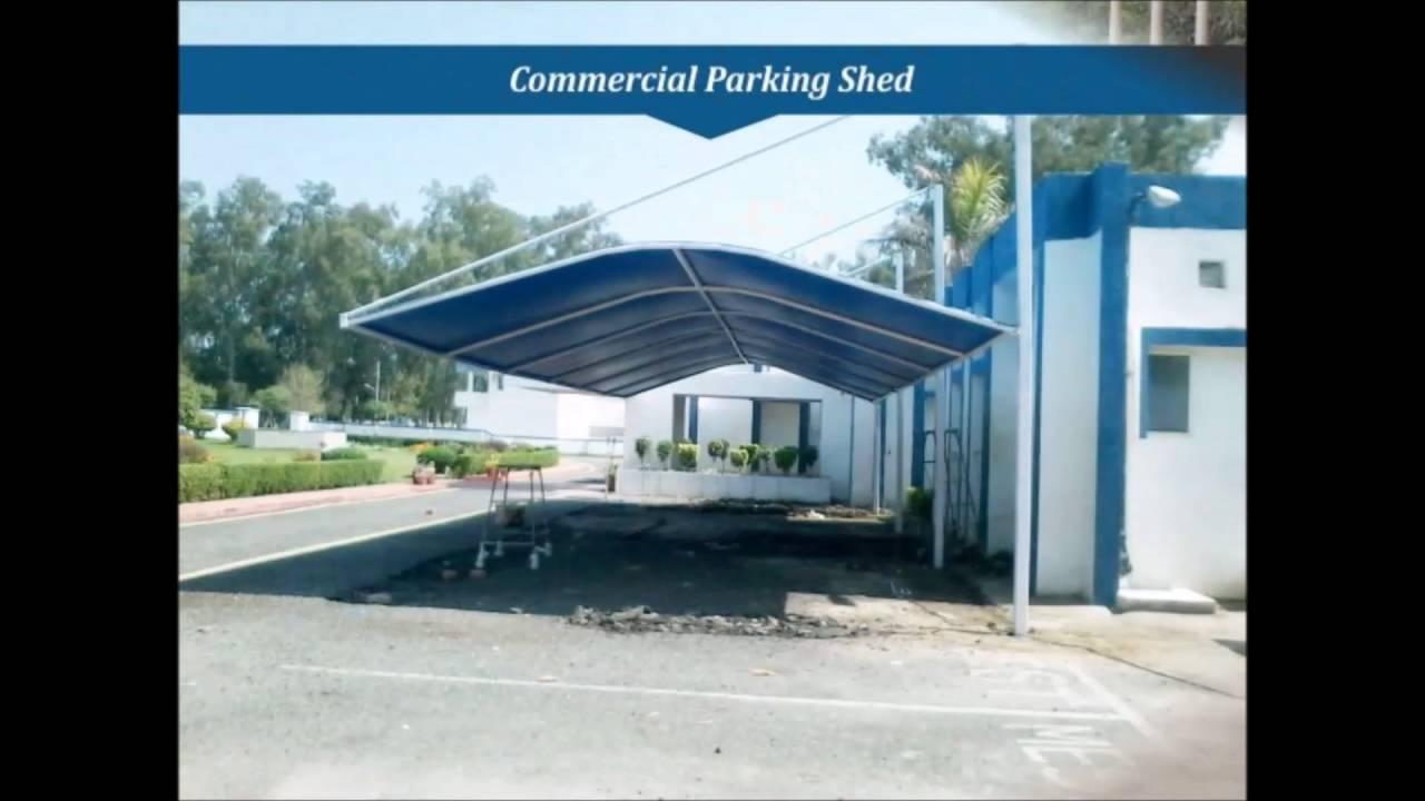 Latest Vehicle Parking Sheds Design Contractors in Parking Sheds Exclusive Parking Canopy Delhi & Latest Vehicle Parking Sheds Design Contractors in Parking Sheds ...