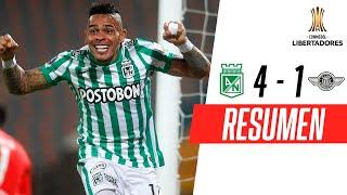 ¡REMONTADA ÉPICA DEL VERDE Y A FASE DE GRUPOS! | Atlético Nacional 4-1 Libertad | RESUMEN
