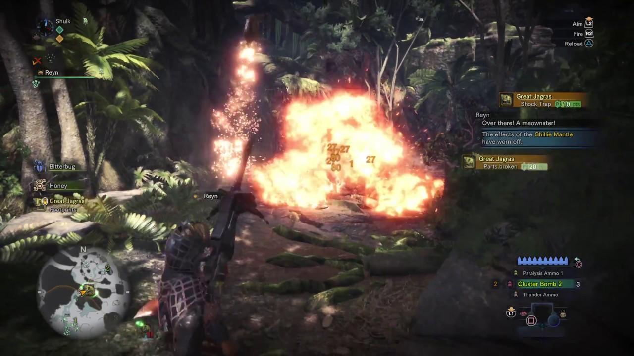 Monster Hunter World Beta Great Jagras 127 Speedrun Youtube