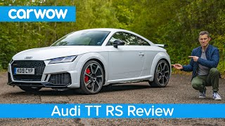 Audi TT RS 2020 review - see why it's a baby R8 for half the money!