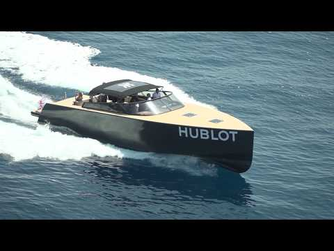Cannes to Saint-Tropez with Arthaud Yachting for Hublot on board Vandutch Yachts (taxi-boat)