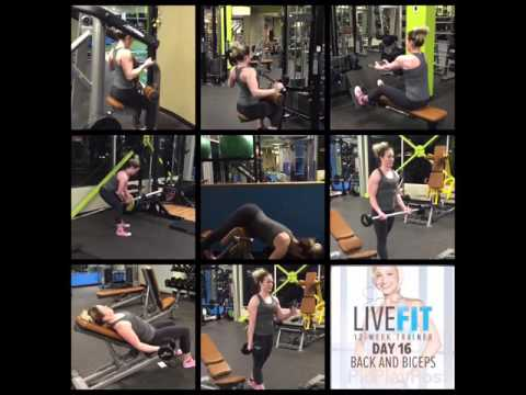 Jamie Eason's LiveFit Day 16