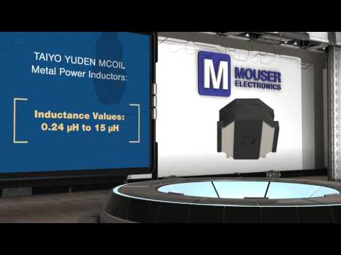 Taiyo Yuden MCOIL Metal Power Inductors | New Product Brief