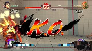 USF4 @ EVO 2015 Red Bull Salty Suite - rkappa Alex Myers vs TS Sabin [720p/60fps]