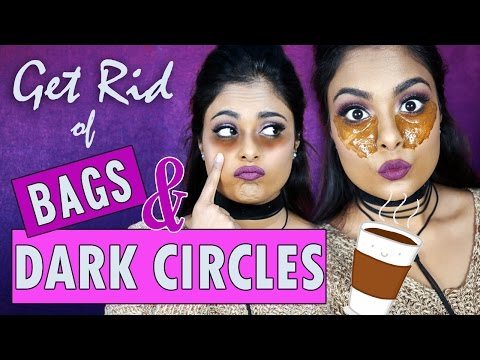 How To Get Rid Of Dark Circles & Undereye Bags + Treat Tired Puffy Eyes Naturally With Coffee