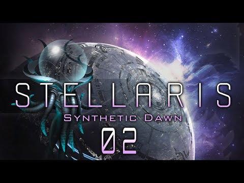 STELLARIS SYNTHETIC DAWN #02 MACHINE WORLD Stellaris Synthetic Dawn DLC -  Let's Play / Gameplay