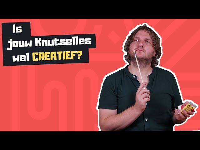 Is jouw knutselles wel creatief?