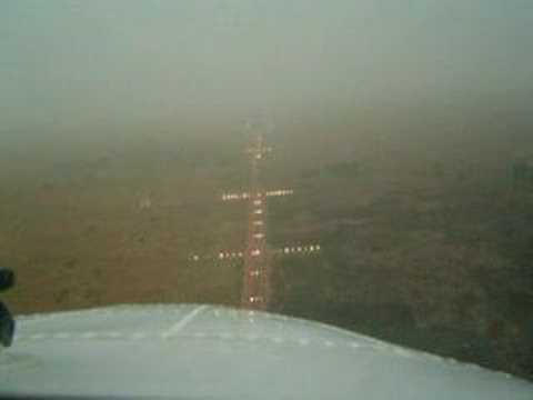 ILS into Bamako, Mali during Harmattan