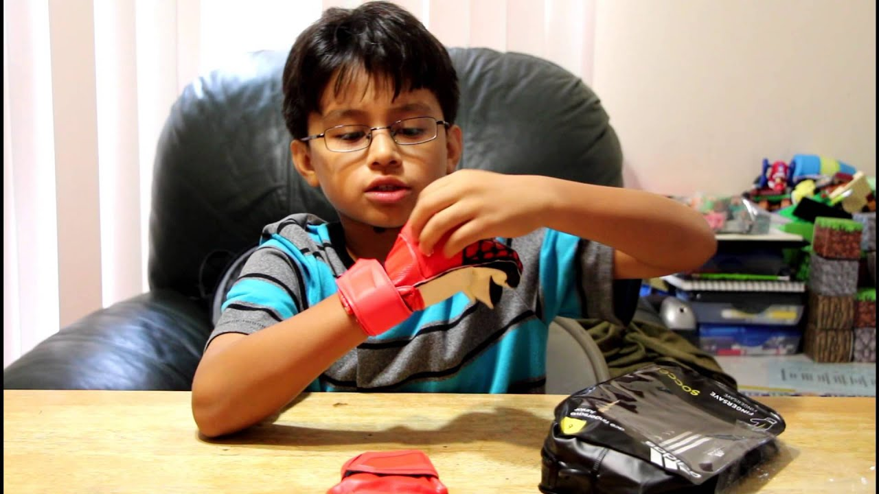 Unboxing of Adidas Ace Fingersaver Junior soccer goalie glove - YouTube 46723a4f6d61