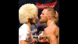Conor McGregor vs Khabib Nurmagomedov FACE TO FACE
