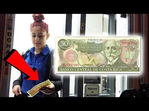 Paying With Money From Other Countries - Foreign Currency - The Omar Gosh Vlogs