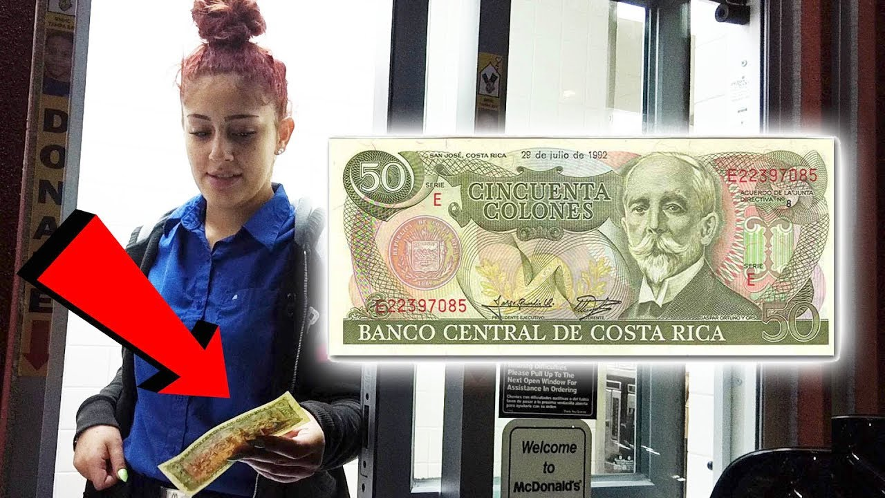 Paying With Money From Other Countries - Foreign Currency