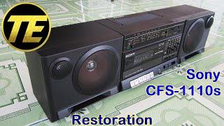 Sony CFS-1110S Restoration