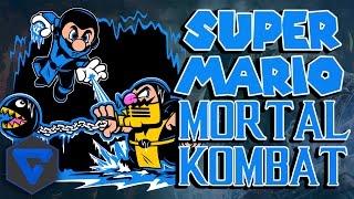 SUPER MARIO MORTAL KOMBAT