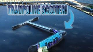 TRAMPOLINE SCOOTER TRICK CHALLENGE!!