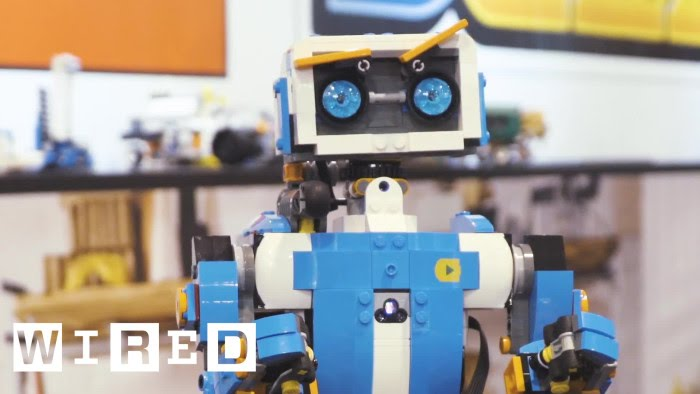 Lego\'s Boost Kit Turns Your Bricks Into Robots | WIRED - YouTube