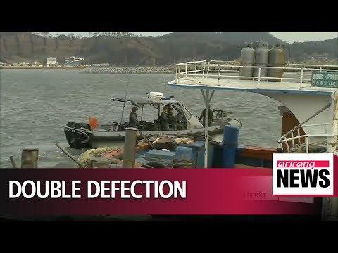 North Korean officer and citizen defect to South Korea via western sea border