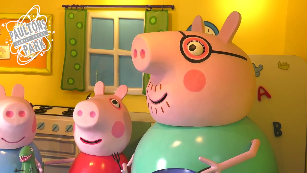 Peppa Pig World Attractions