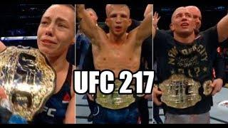 UFC 217 - ST. PIERRE x BISPING  - Debate