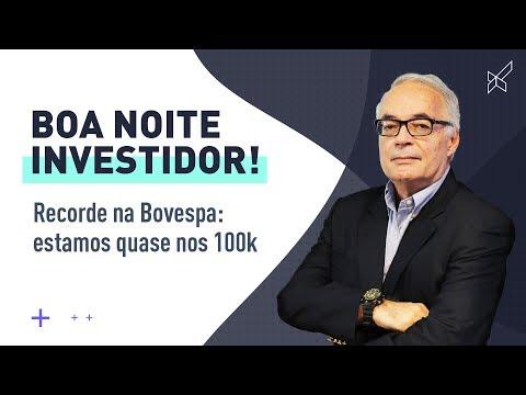 Recorde na Bovespa: estamos quase nos 100k