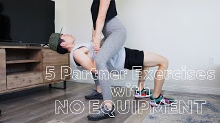 5 Partner Exercises You Can At Home with NO EQUIPMENT / Vita Cors