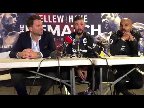"Eddie Hearn: ""Tyson Fury won't go anywhere near Tony ..."
