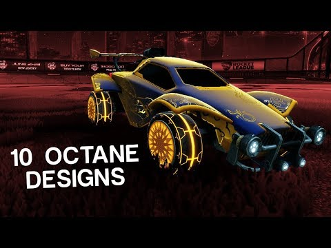 10 More Beautiful Octane Designs In Rocket League